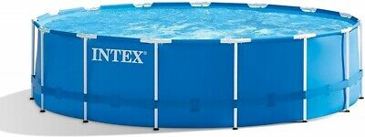 FRAME ONLY Intex Circular Round Metal Frame Pool 18' 5.49 Meter