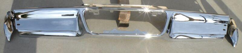 X Lincoln Mark Iii 3 New Triple Plated Chrome Rear Back Bumper 1968-1969 68-69