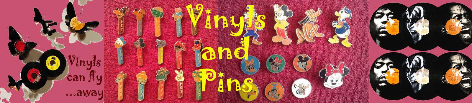 Vinyls and Pins