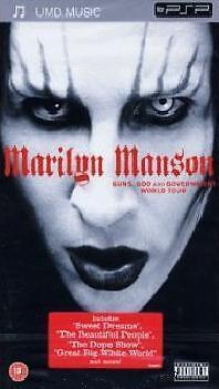 UMD PSP Marilyn Manson `Guns, God and Government` Neu/New/OVP