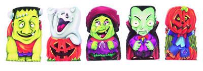 6 Halloween Fingerpuppen - Süßes oder Saures Spielzeug Beute /