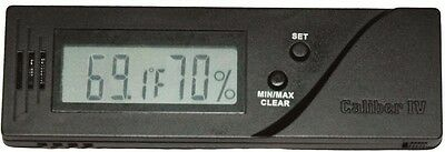 Caliber IV  Digital Cigar Humidor Hygrometer Calibration Capable Western NEW