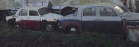 ROVER P4-100, STANDARD PENNANT BREAKING FOR PARTS-PRICE FOR BOTH CARS