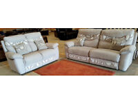 Comfy sofas 3 + 2 Seater. Can deliver