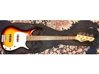 Peavey Milestone 3 Bass Guitar in Tobacco Sunburst