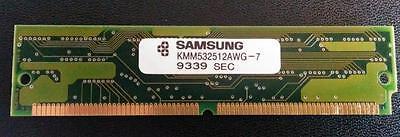 Samsung KMM532512AWG  SIMM 72 pin Module