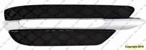Grille Lower Passenger Side With Amg Package Coupe/Sedan Mercedes C-Class 2012-2015