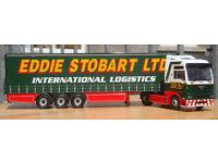 """Corgi CC13401, MAN TGA Curtainside """"Eddie Stobart"""", 1:50"""