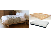 Fouton Company Double Bed and Matress, like new