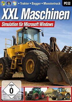 Pc Computer Spiel Xxl Maschinen - Traktor, Bagger, Monstertruck Neunew