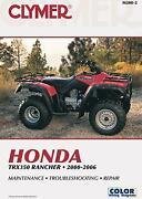Honda Rancher Manual