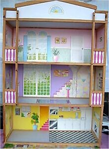 MÉGA LOT MAISON DE BARBIE DOLLHOUSE COLLECTION MEUBLES JEPP