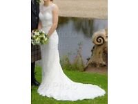 Wedding Bride Dress Lusan Mandongus LM2667B fits size 6