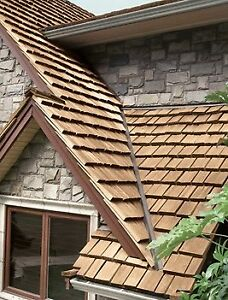 Cedar shake 13% off Roofing - Cleaning - Siding