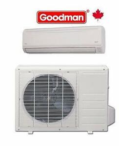 GOODMAN- DAIKIN - GREE - HISENSE KELON - MIDEA - HVAC DISTRIBUTOR 7855 KEELE ST unit1, VAUGHAN ON.