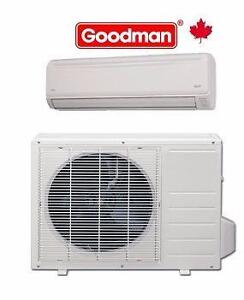 DUCTLESS MINI SPLIT AC  OR  Heat PUMP SINGLE or MULTI ZONE  -  SPECIAL PRICE