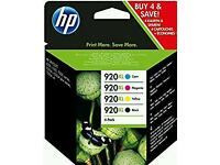 HP 920XL 4 PACK NEW RRP £54