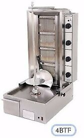 Archway original Donner Kebab Machine 4 Burner gas grill