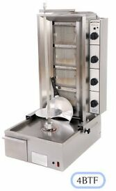 Archway 3BT 3 Burner Twin Natural Gas Kebab Grill
