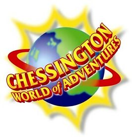2 Chessington tickets 5.09 Saturday for sale.