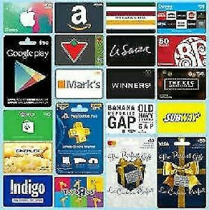 ★WANTED ALL GIFT CARDS★ ANY AMOUNT★ANY STORE★WE BUY IT ALL NOW!★
