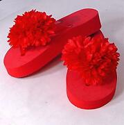 Girls Red Shoes Size 12