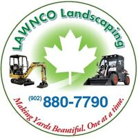LawnCo Landscaping,Great Deals On Spring Clean Up! (902)880-7790