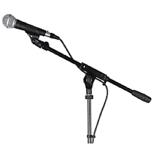 Shure SM-58,with boom stand,and 25 foot cable,Plus clip,for sale