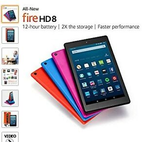 "HD 8 Tablet, 8"" HD Display, Wi-Fi, 16 GB - Includes Special Offe"