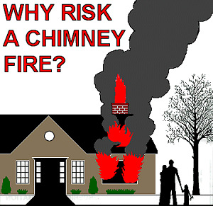 Complete Chimney Cleaning  *** Fall Special starting at  $99 ***