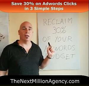 Spend Big on Adwords?  How To Get Back 30% of Your Click Costs Every Month! - their not telling you this