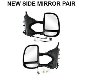 NEW POWER DUAL ARM EXTENDABLE TOWING MIRROR 99-01 F250 & F350SD Kitchener / Waterloo Kitchener Area image 1
