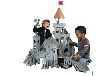 huge play castle with accessories