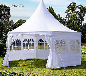 Pagoda Party Tent w/ Removable Sidewalls Wedding Outdoor
