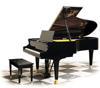 Piano Lessons.  Learn to play on a Grand Piano East Regina