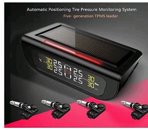 TPMS, Solar Power Wireless, Tire Pressure Monitoring System