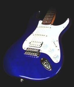 Fender Squier Strat - Metallic Blue - Plays & Sounds Great - Amp