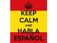 Spanish classes with native, experienced Spanish teacher