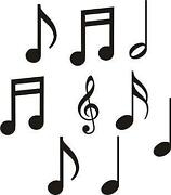 Music Notes Wall Decals