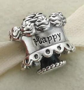 Authentic Pandora Happy Birthday Cake Charm