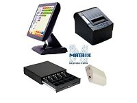 Brand new epos with cash drawer and thermal printer