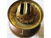 Victorian/Edwardian brass&copper oil/kerosene lamp -25 POUNDS