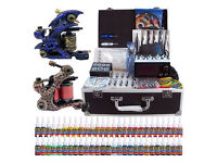 New Kit tattoo machine + 54 bottles full colors tattoo ink
