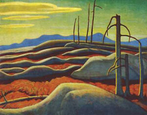 """Limited Edition """"Lake Superior"""" by Lawren Harris"""