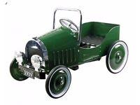 1939 vintage pedal car