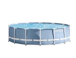 Intex Prism Frame Above Ground Pool with Filter Pump
