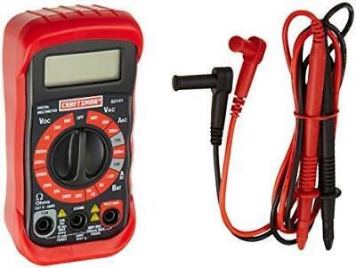 Craftsman 8 Function Digital Multimeter 20 Ranges 9 Volt Battery Included