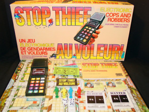 BOARD GAME - STOP THIEF 80s VERSION - GREAT CONDITION