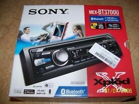SONY mex BT3700U Car stereo