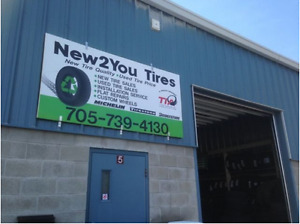 All Season Used Tire SALE from $279 Installed & Balanced 14-20""